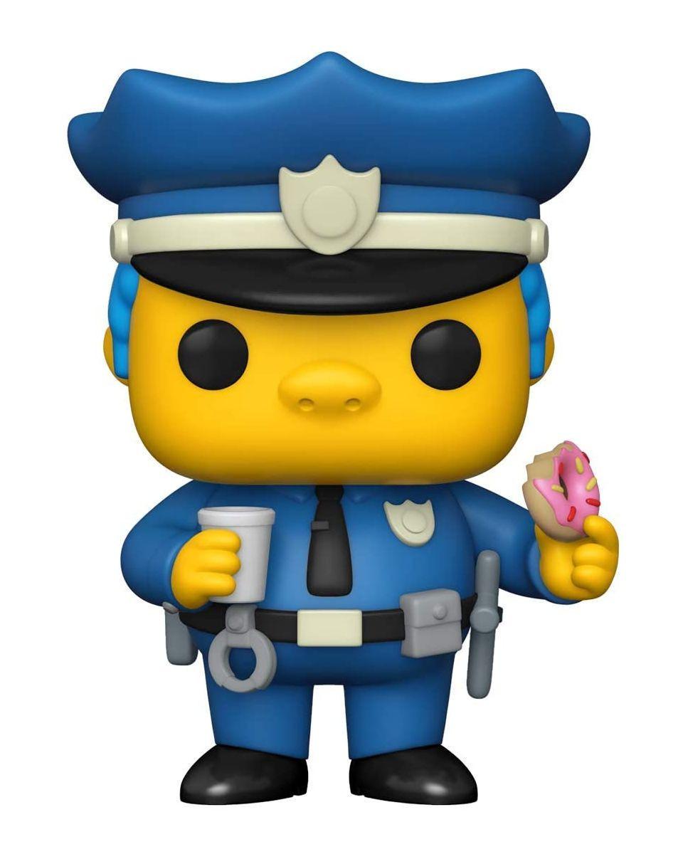 Bobble Figure The Simpsons POP! - Chief Wiggum