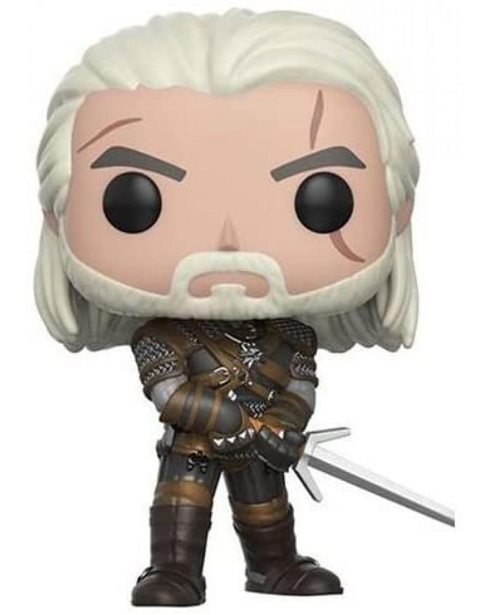 Bobble Figure The Witcher Wild Hunt POP! - Geralt