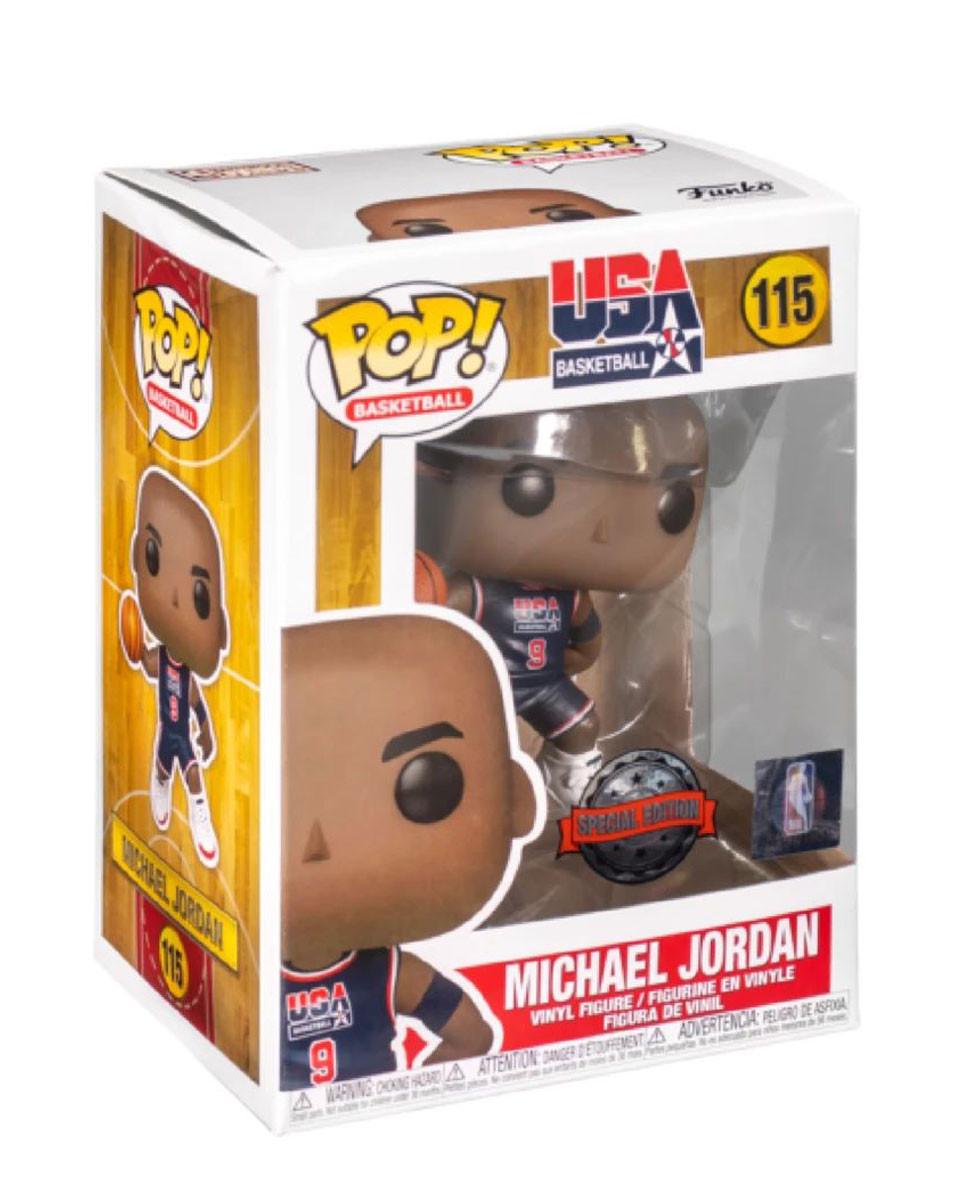 Bobble Figure USA Basketball Pop! - Michael Jordan - Special Edition Black