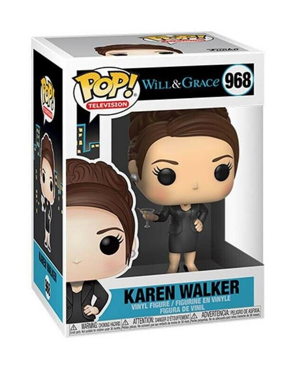 Bobble Figure Will And Grace Television POP! - Karen Walker