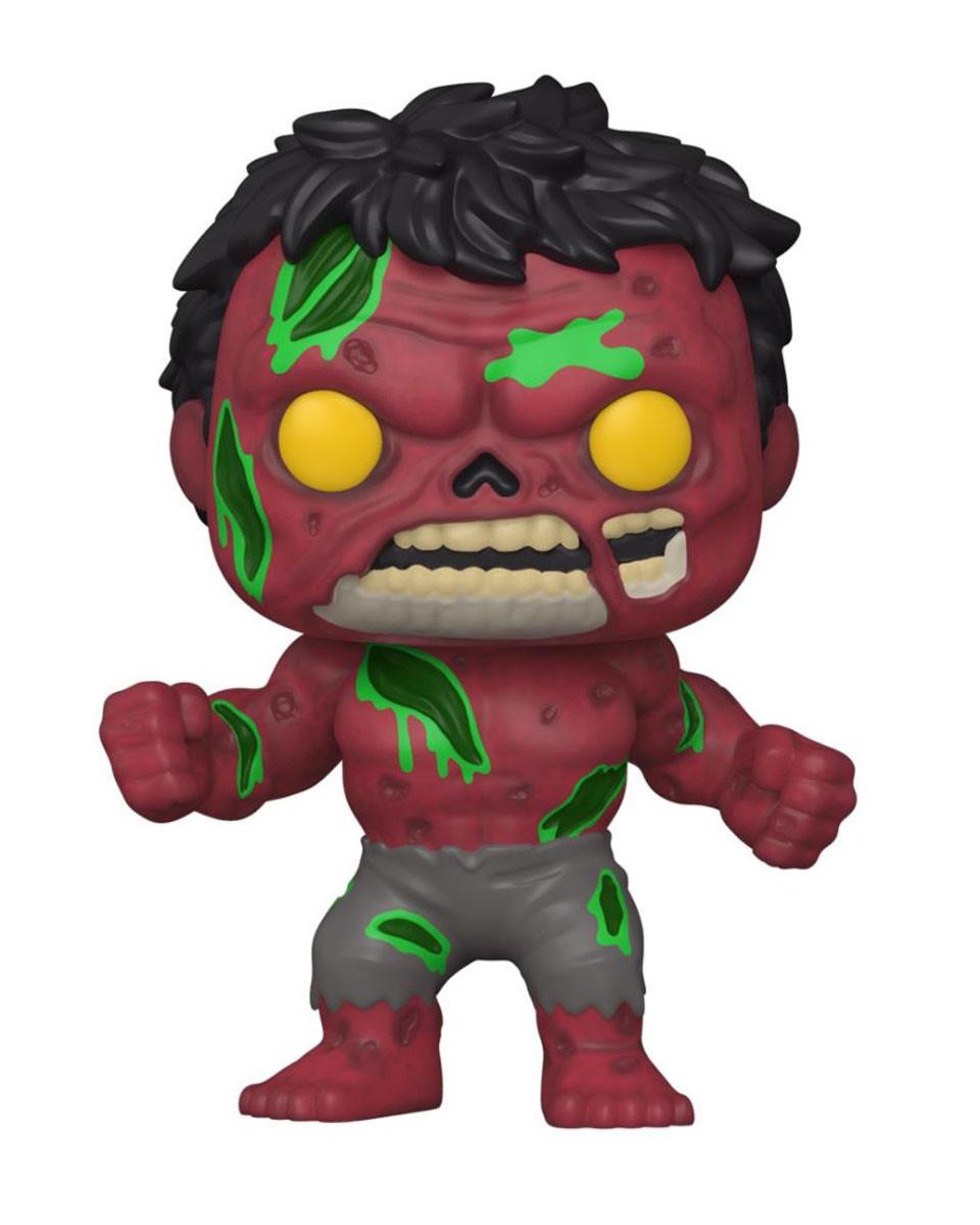 Bobble Figure Marvel Zombies POP! - Zombie Red Hulk