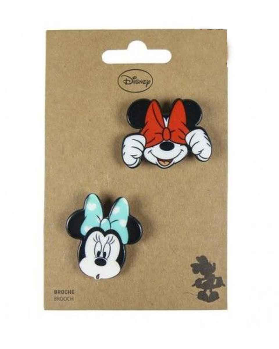 Bedž Disney - Mickey And Minnie With Bow Tie