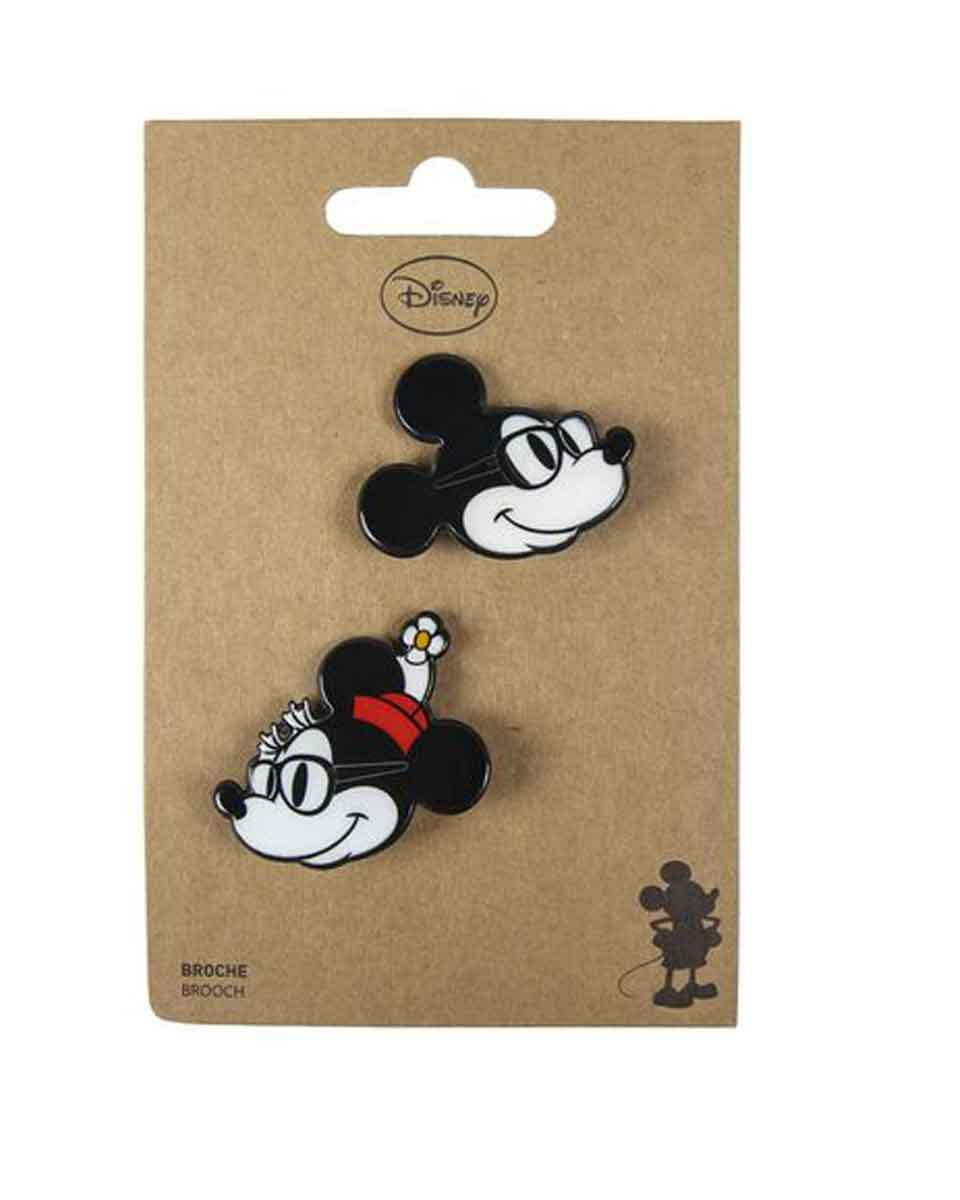 Bedž Disney - Mickey And Minnie