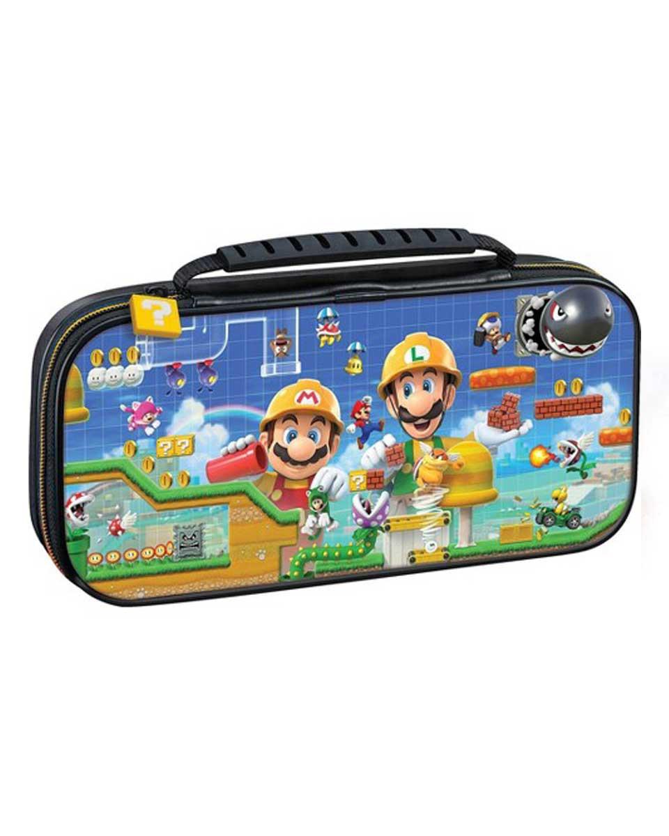 Deluxe Travel Case Mario Maker 2