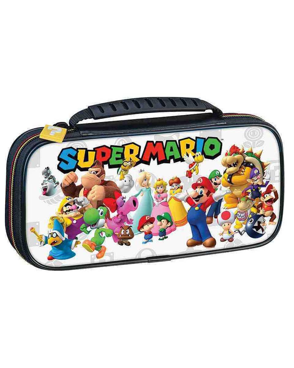 Deluxe Travel Case Super Mario Team White
