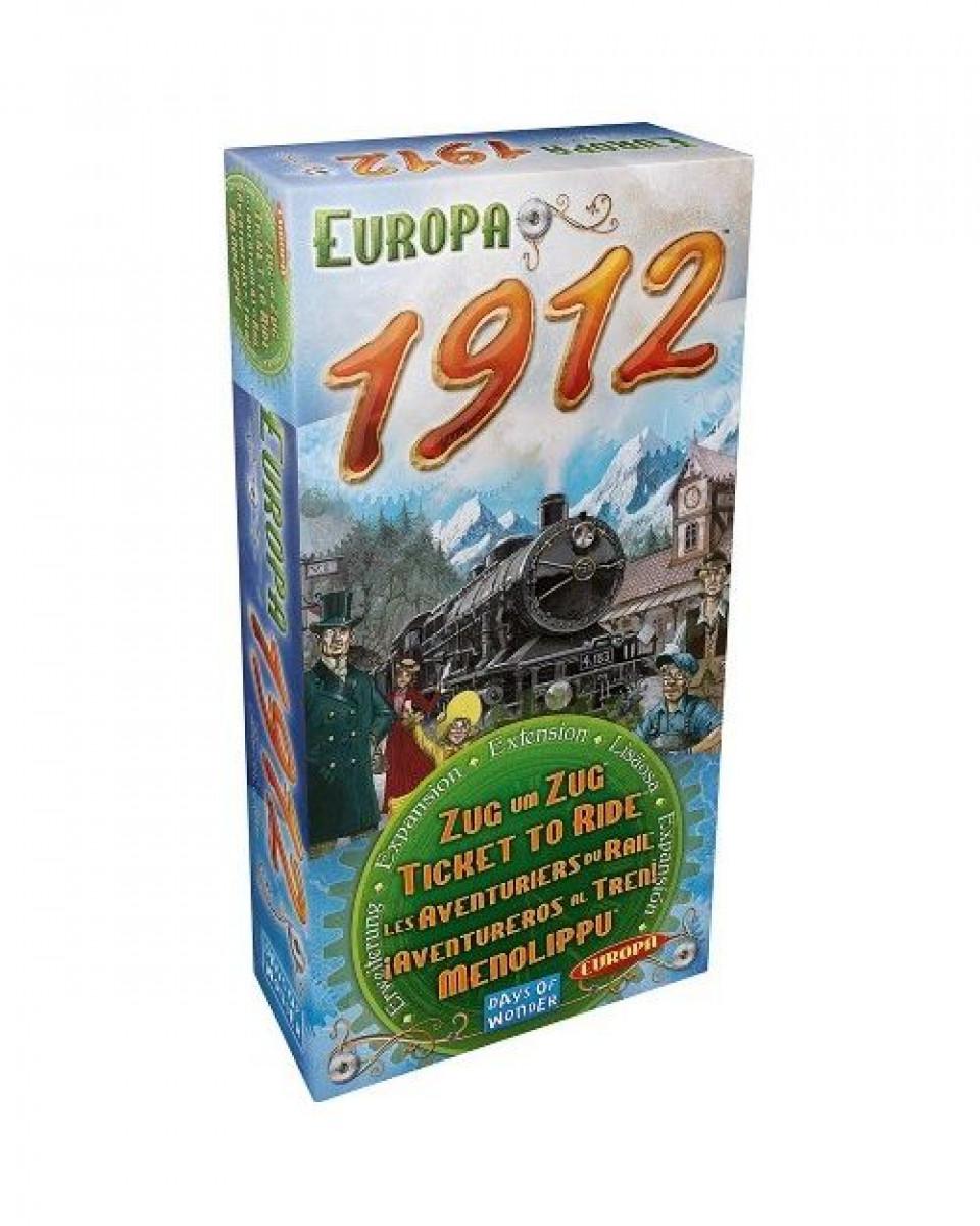 Društvena igra Ticket To Ride - Europa 1912