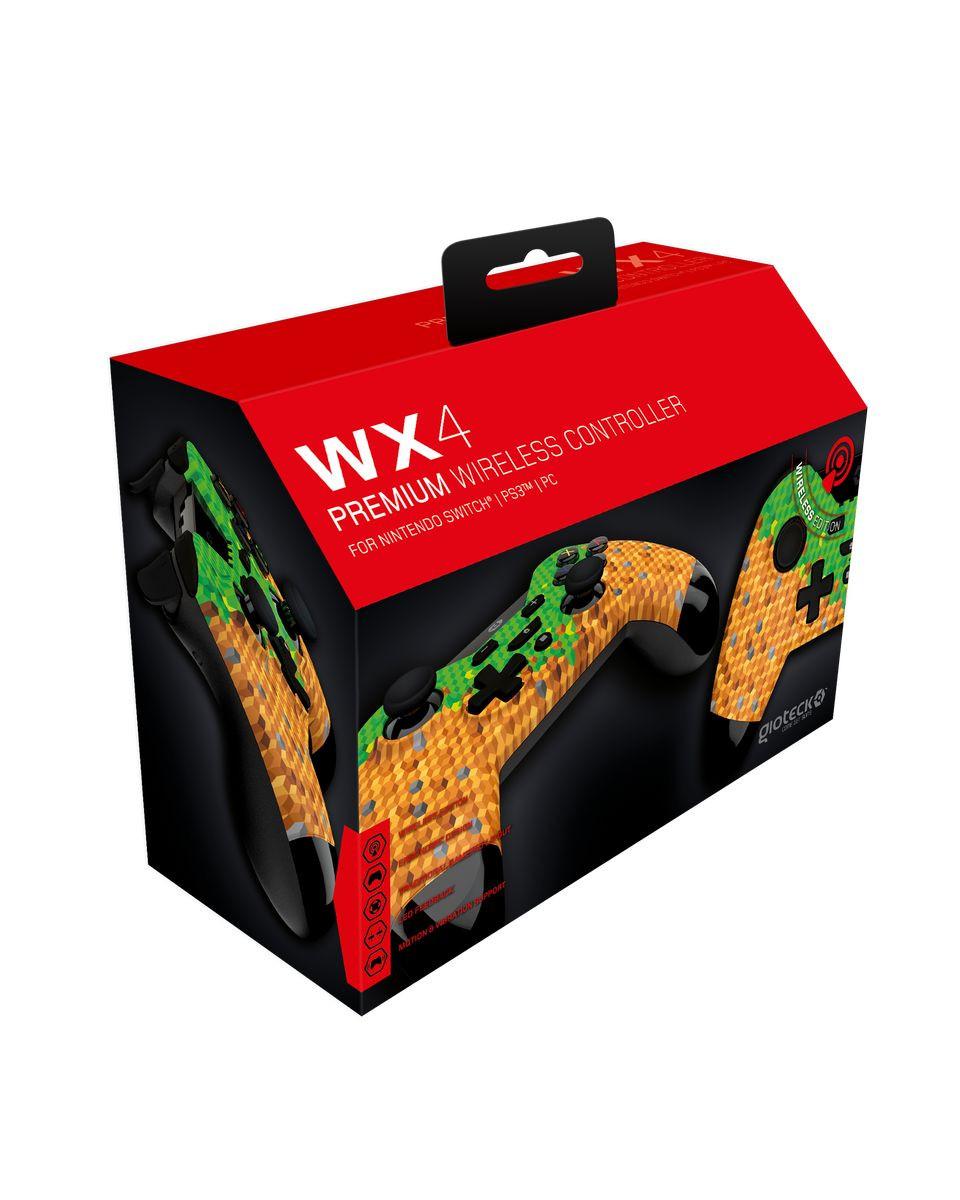 Gamepad Gioteck WX-4 Wireless/Bluetooth - Cubes