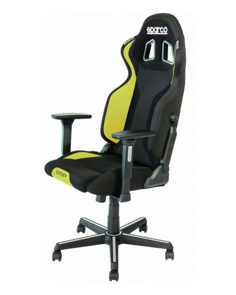 Gaming Stolica Sparco GRIP Black / Yellow