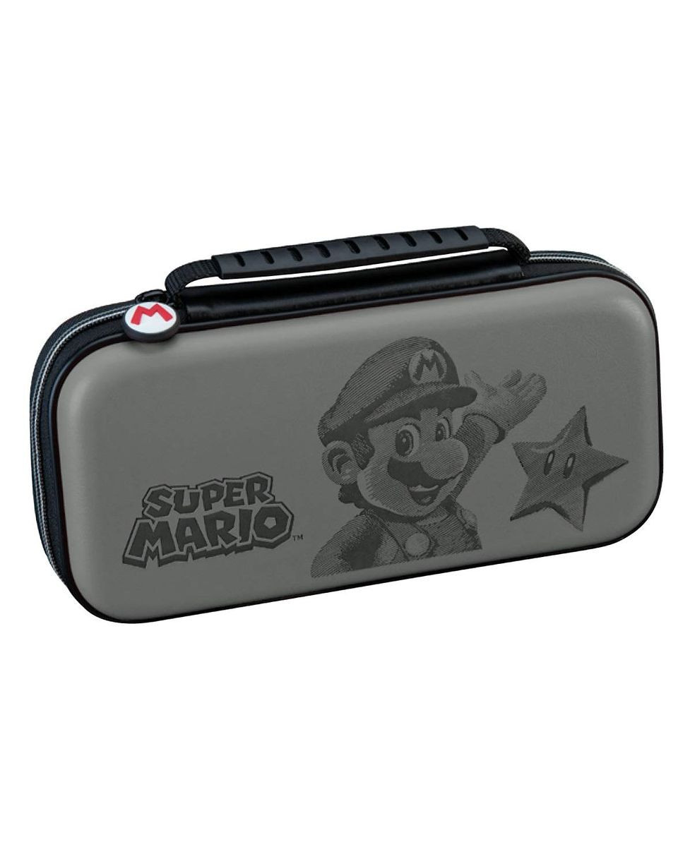 Deluxe Travel Case Super Mario Gray