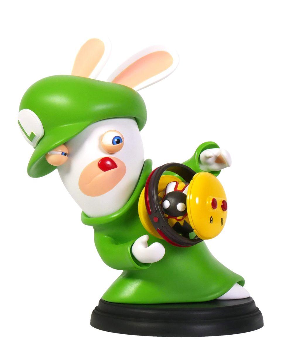 Statue Mario Rabbids Kingdom Battle - Luigi