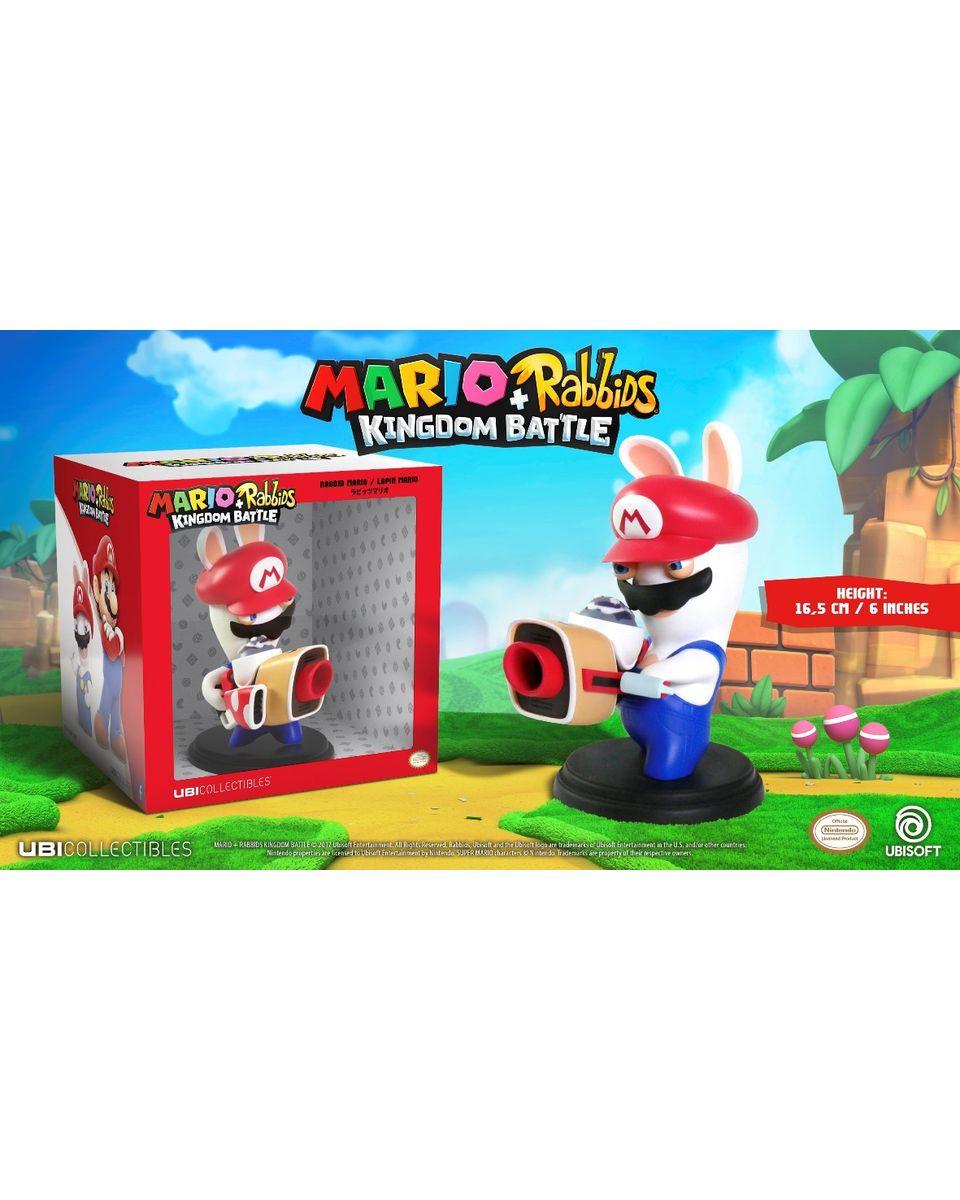 Statue Mario Rabbids Kingdom Battle - Mario