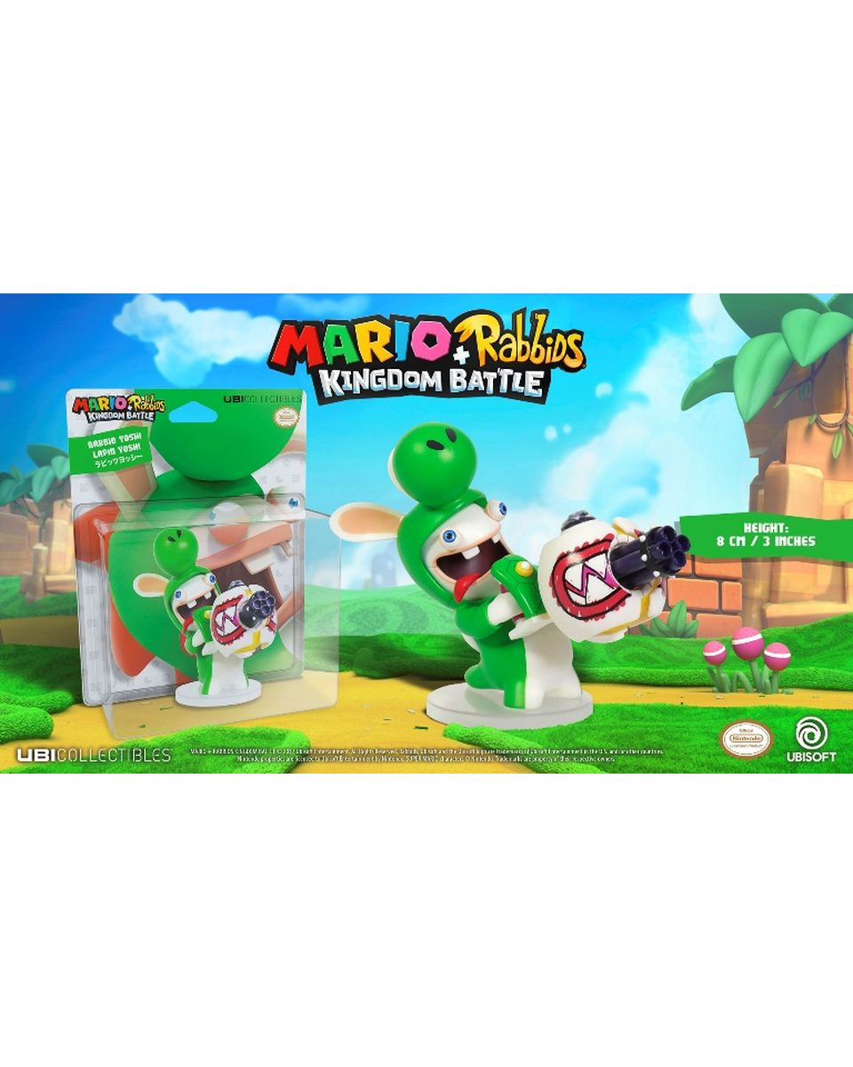 Mini Figure Mario Rabbids Kingdom Battle - Yoshi