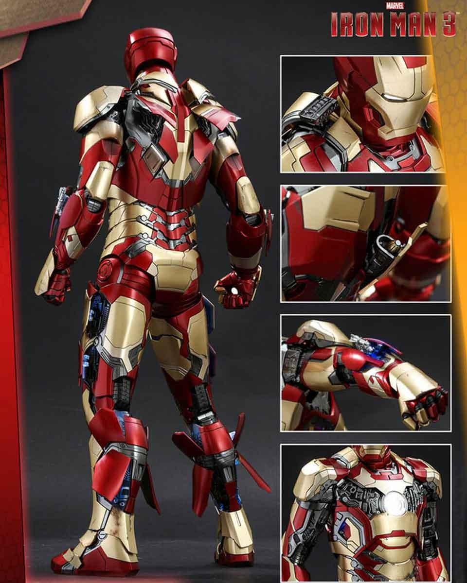 Statue Iron Man 3 - Mark XLII