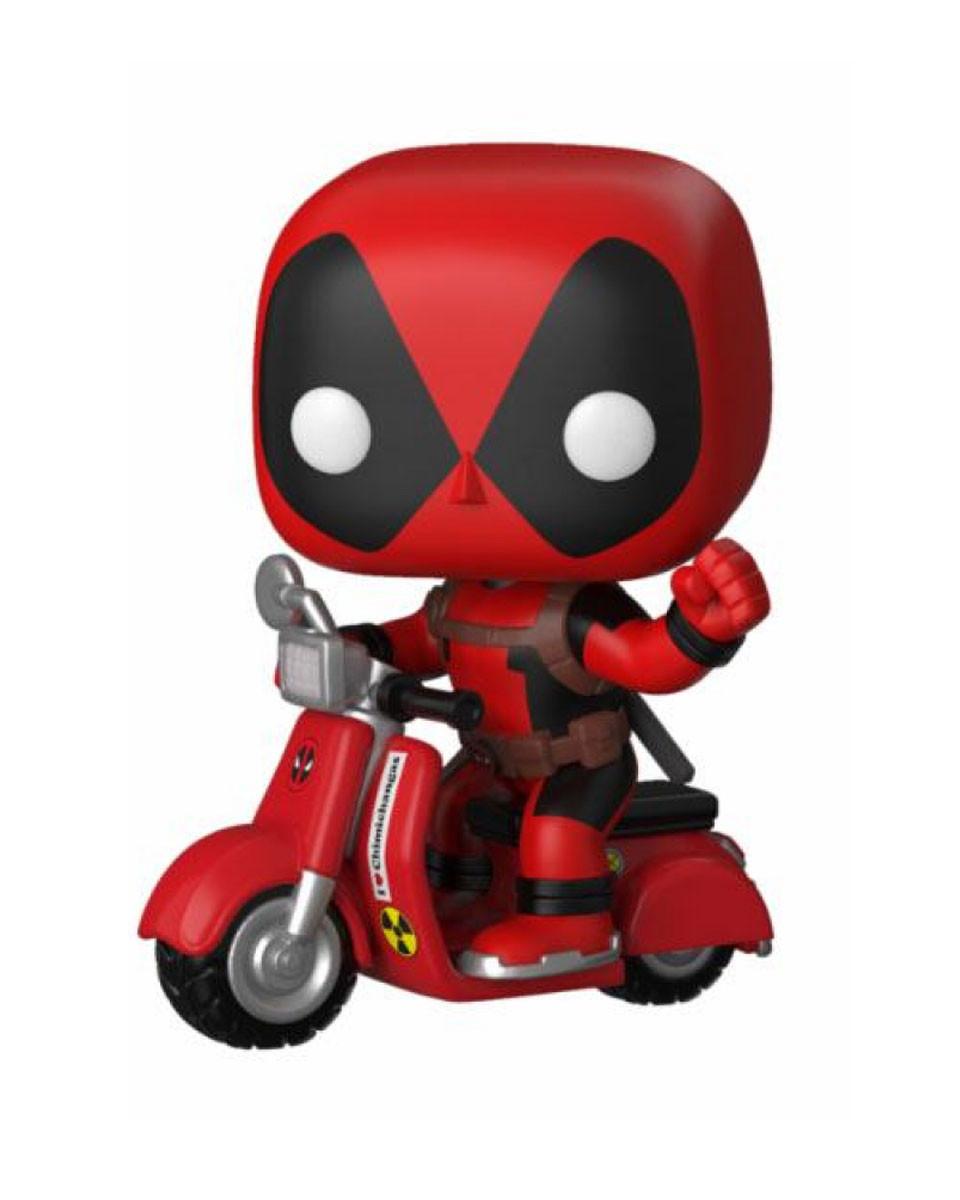 Bobble Figure Deadpool POP! - Deadpool On Scooter