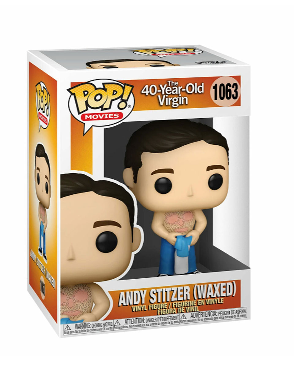Bobble Figure The 40-Year-Old Virgin POP! - Andy Waxed