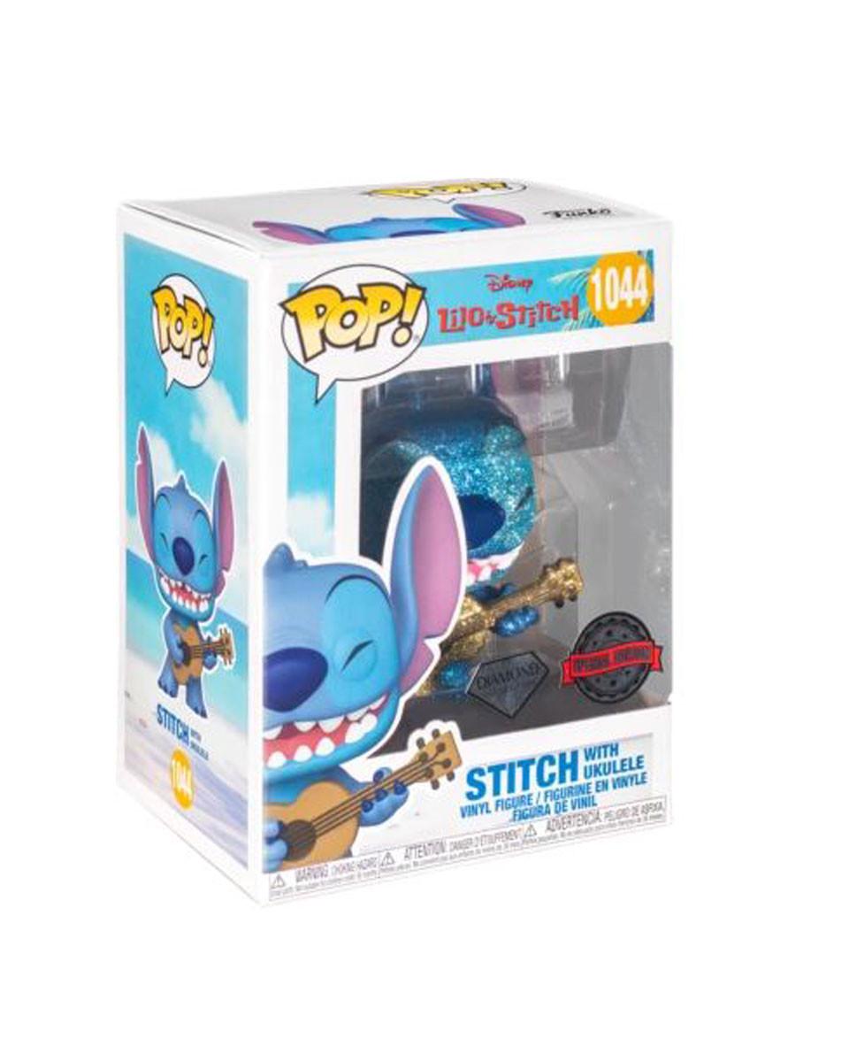 Bobble Figure Lilo And Stitch POP! - Stitch With Ukelele