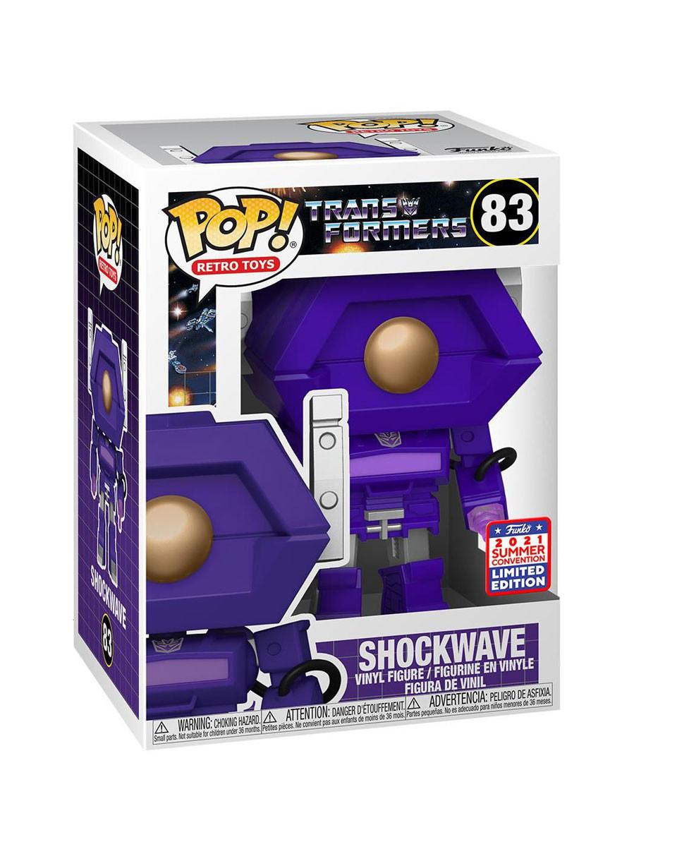 Bobble Figure Transformers POP! - Shockwave - Limited Edition