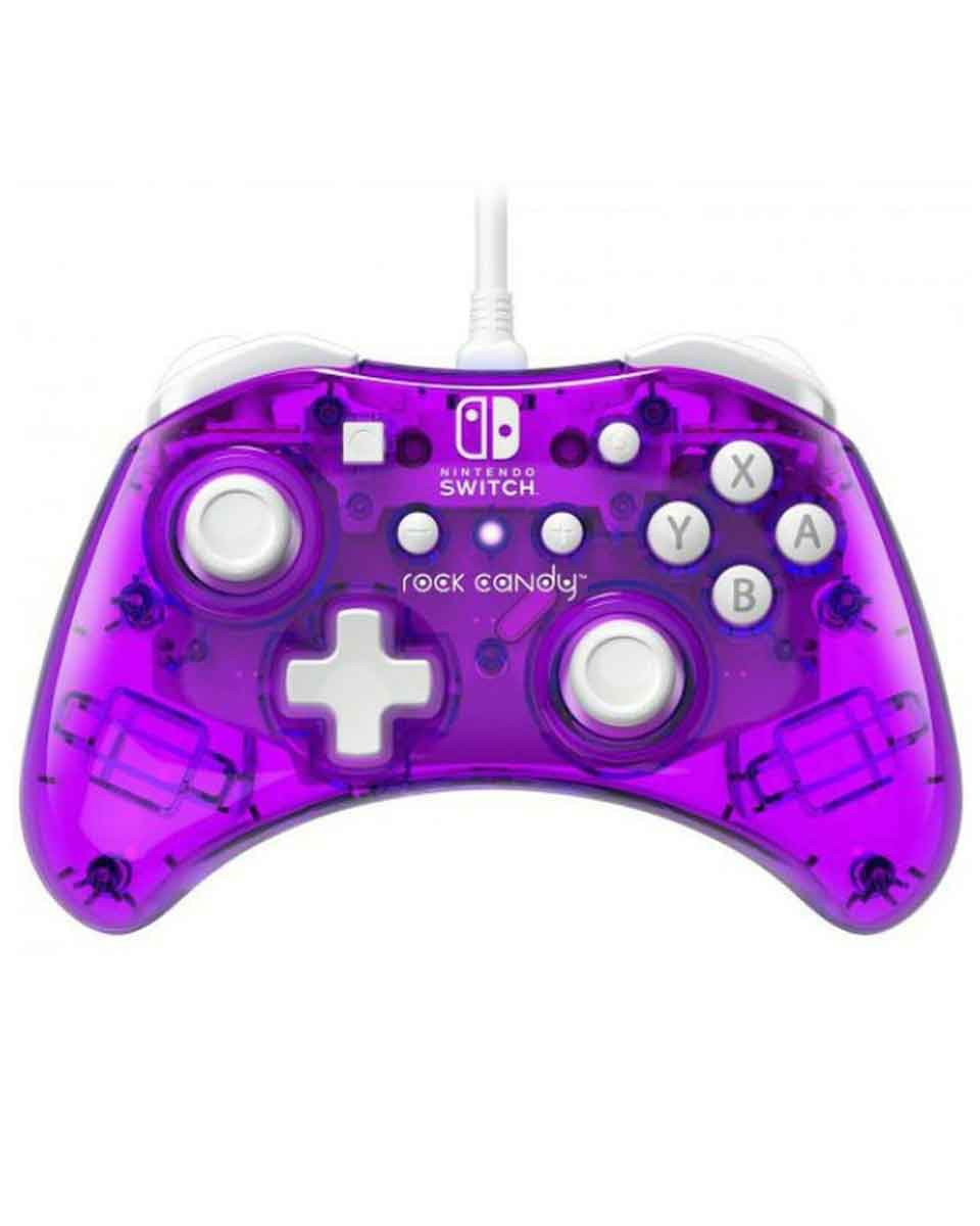 Gamepad PDP Rock Candy Mini - Cosmo Berry - Wired