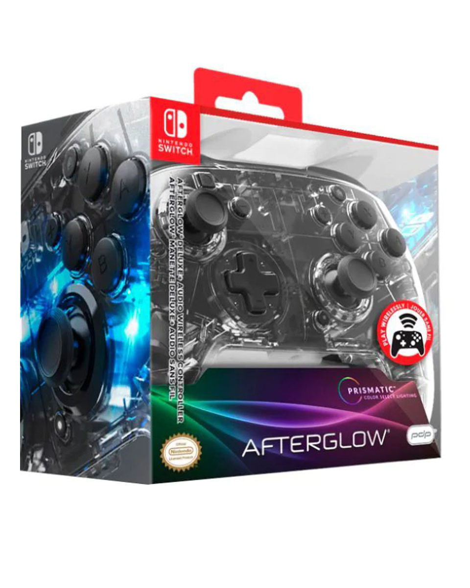 Gamepad PDP Deluxe Wireless - Afterglow Prismatic