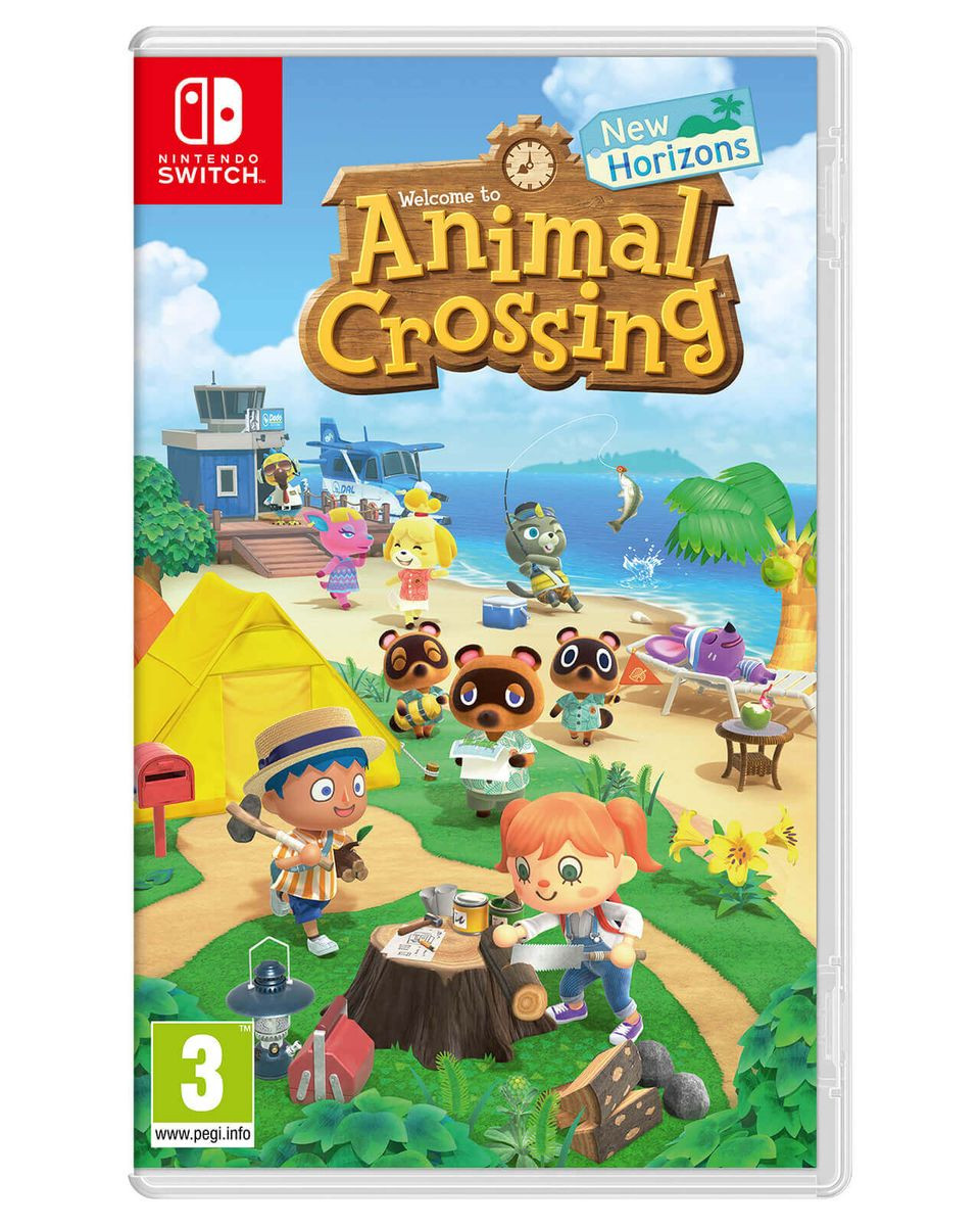 Konzola Nintendo Switch Lite - Coral + Animal Crossing