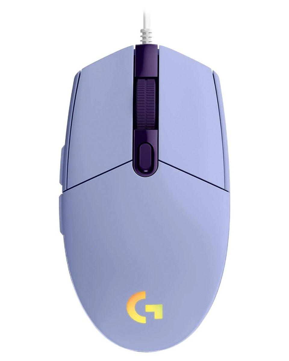 Miš Logitech G102 Lightsync - Purple