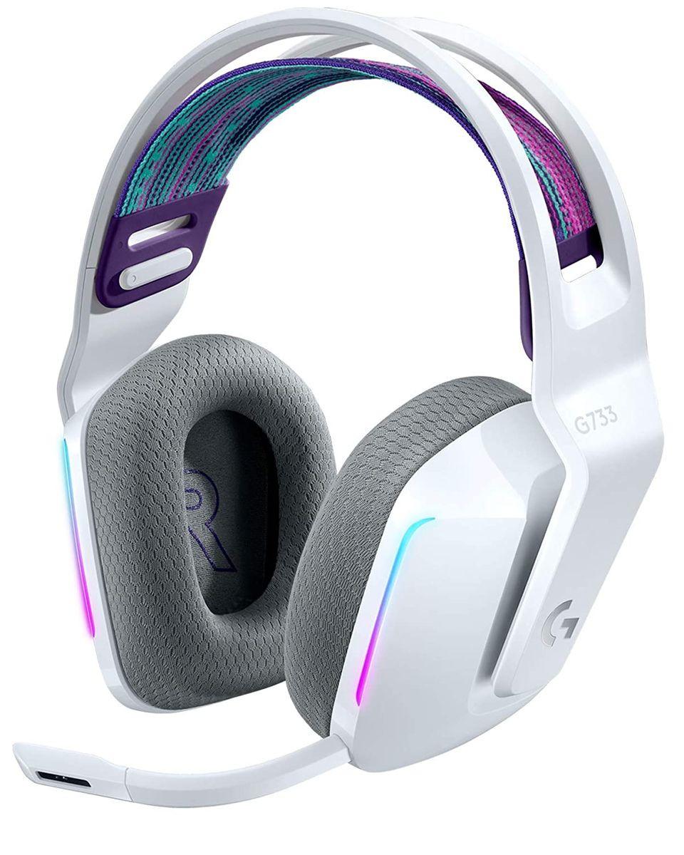 Slušalice Logitech G733 White