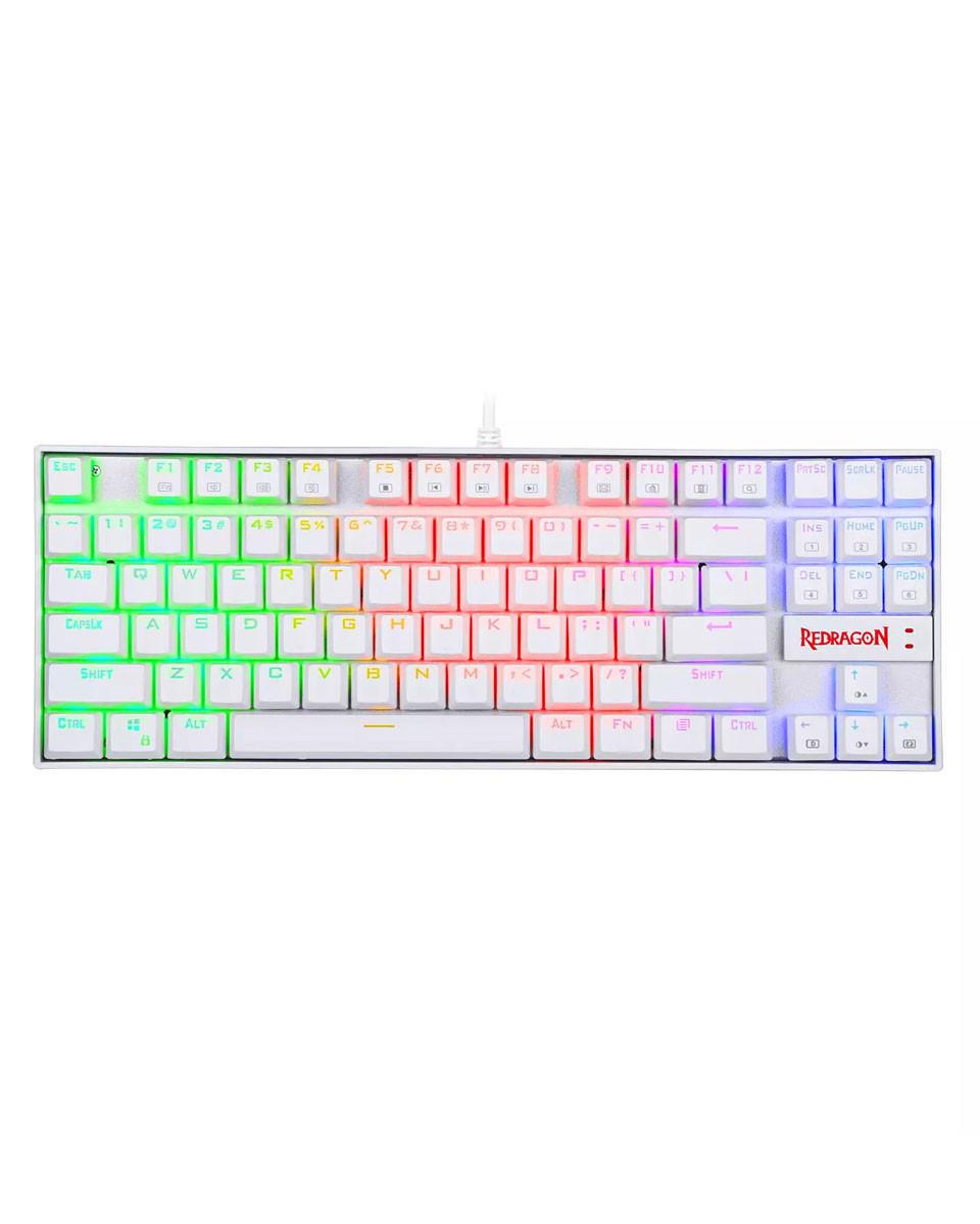 Tastatura Redragon Kumara K552 RGB - White