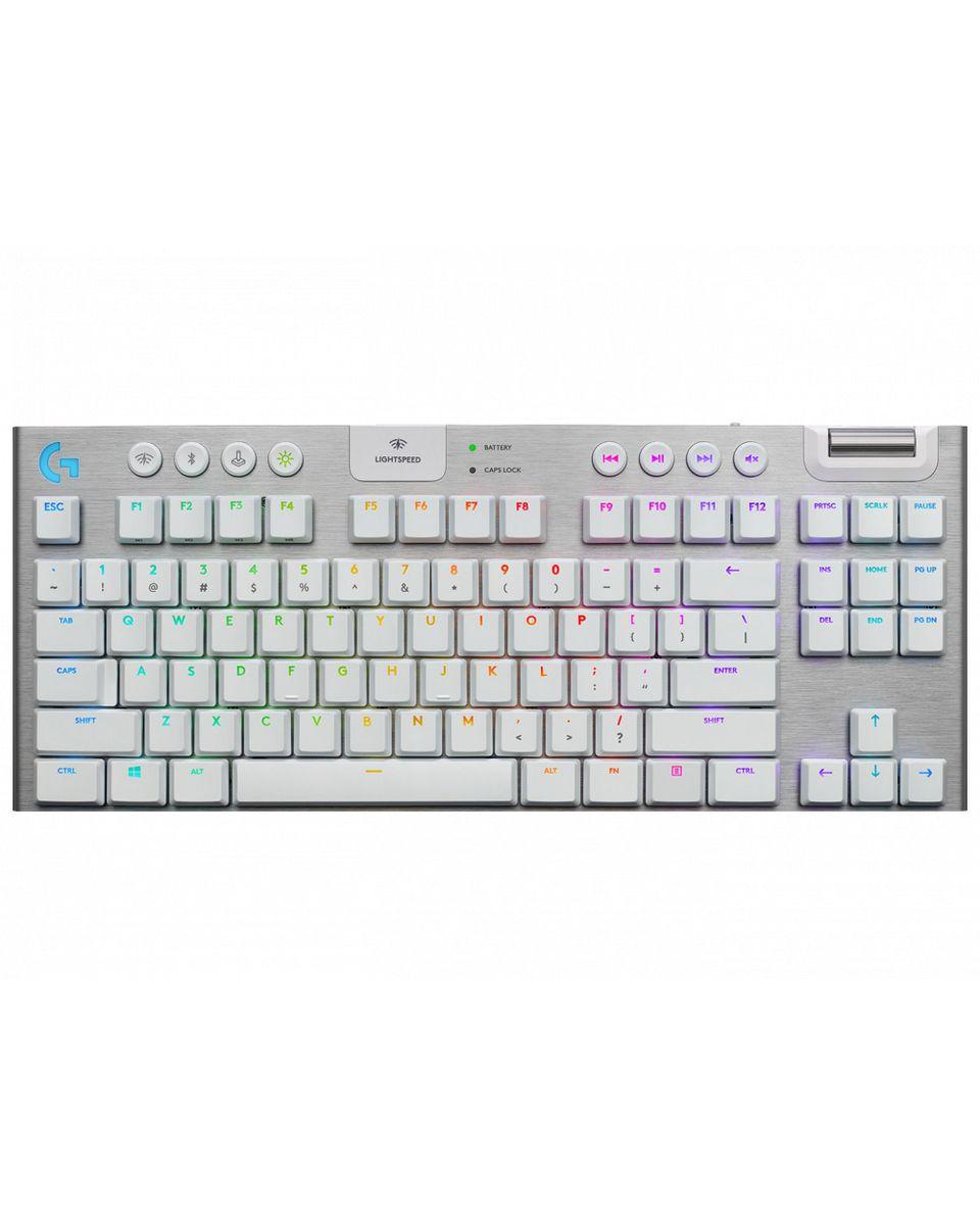 Tastatura Logitech G915 TKL Lightspeed White - GL Tactical