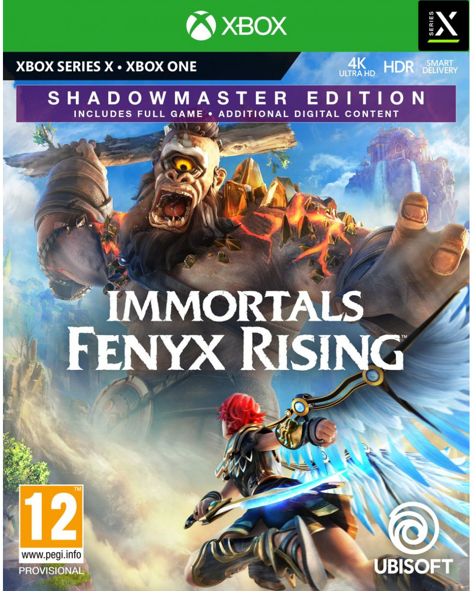 XBOX ONE Immortals Fenyx Rising Shadowmaster Special Day1 Edition