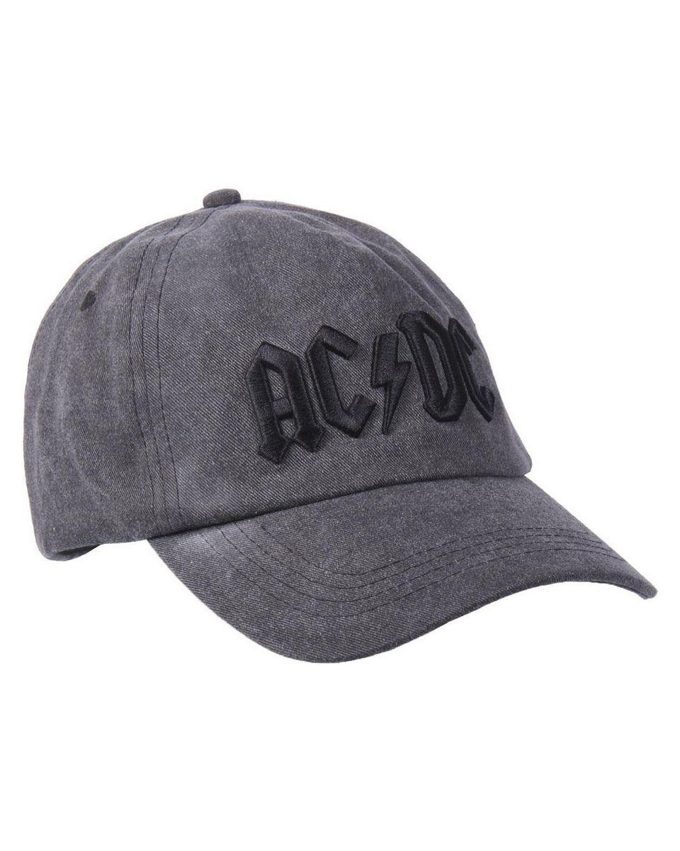 Kačket ACDC - Gray/Black