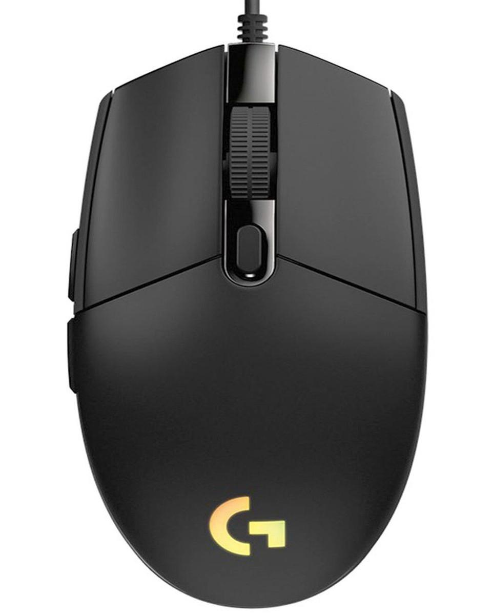 Miš Logitech G102 Lightsync - Black