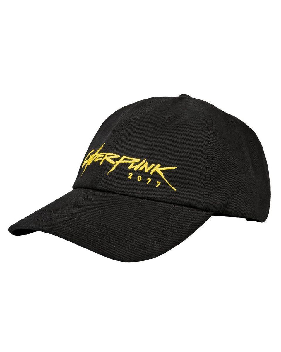 Kačket Cyberpunk 2077 Cyberdad Dad Hat Black