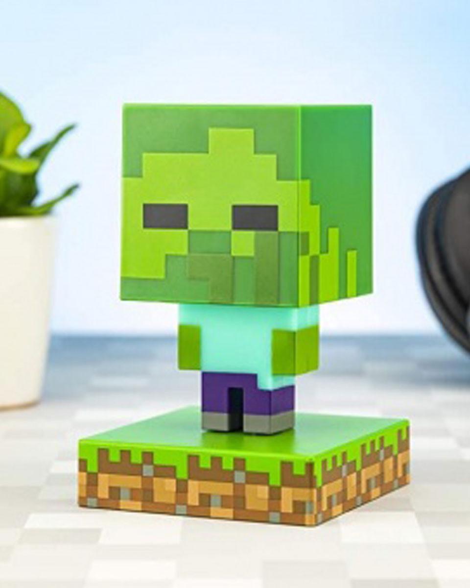 Lampa Minecraft - Zombie Icon Light BDP