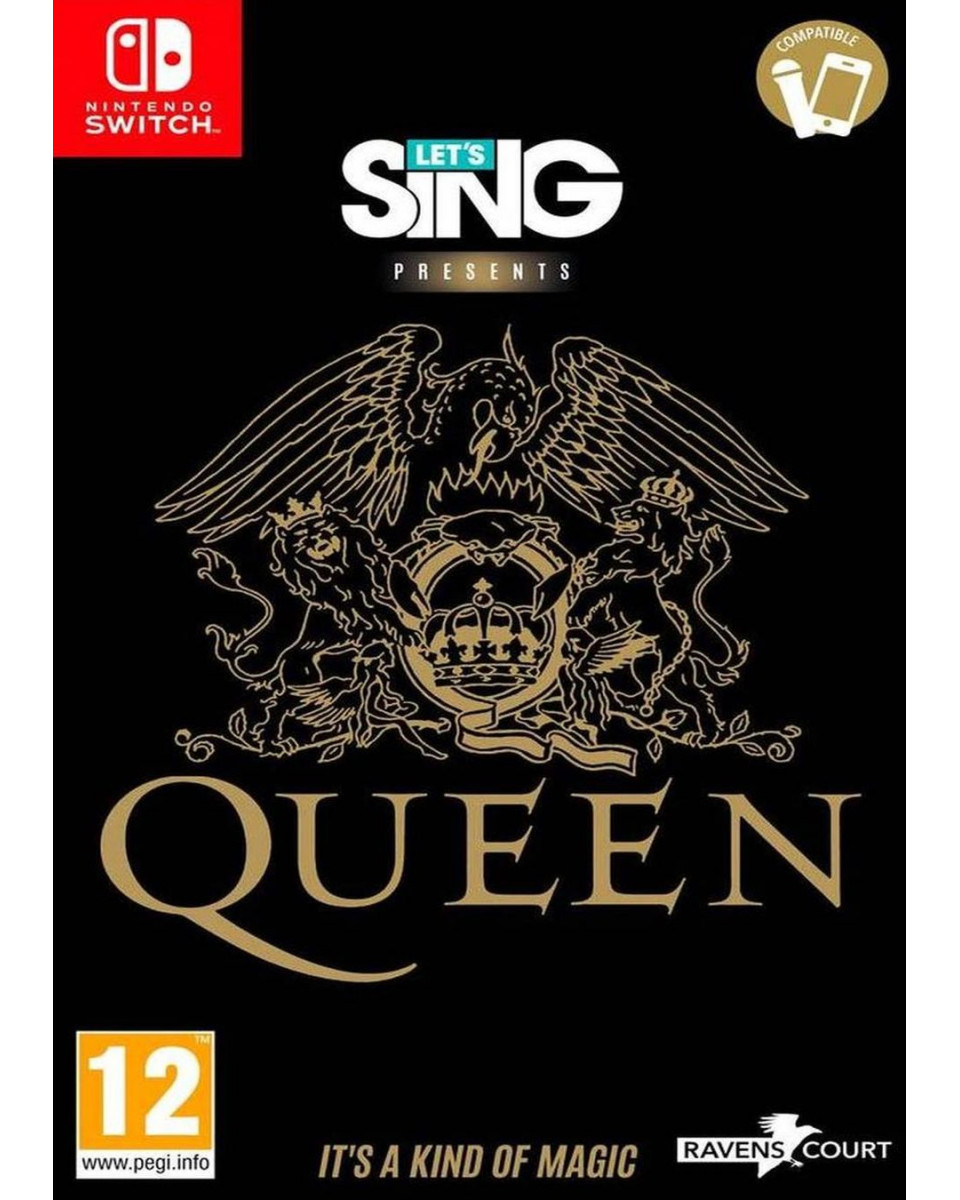 Switch Let's Sing - Queen