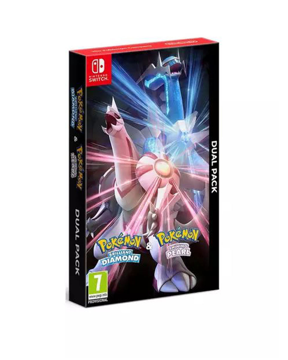 Switch Pokemon - Brilliant Diamond and Shining Pearl - Double Pack