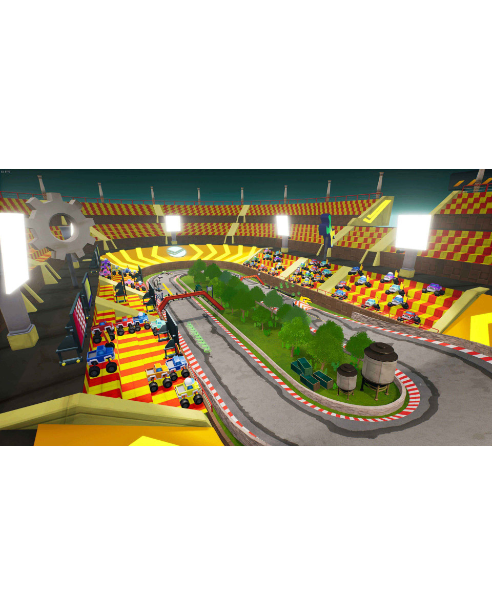XBOX ONE Blaze and the Monster Machines - Axle City Racers
