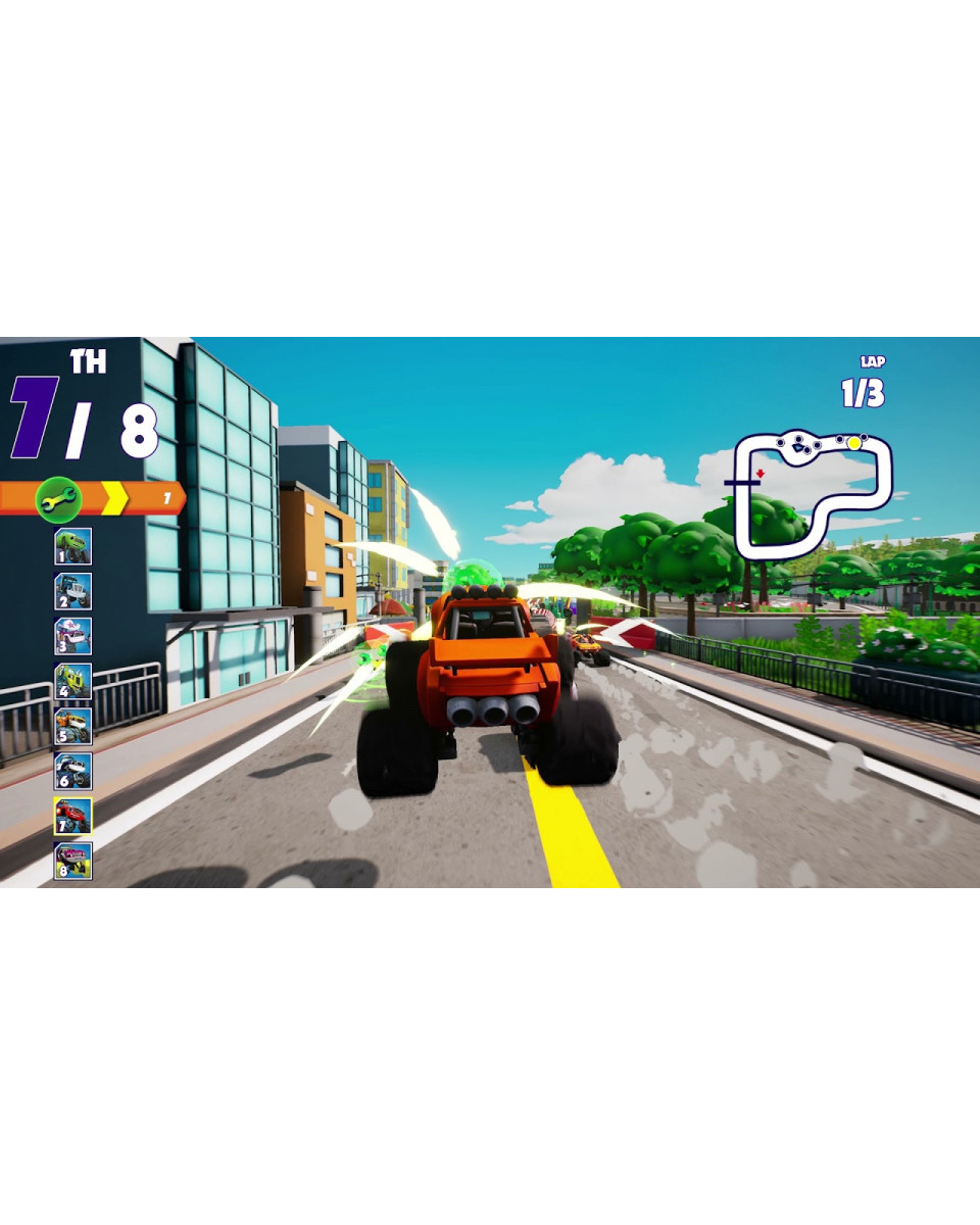 PS4 Blaze and the Monster Machines - Axle City Racers