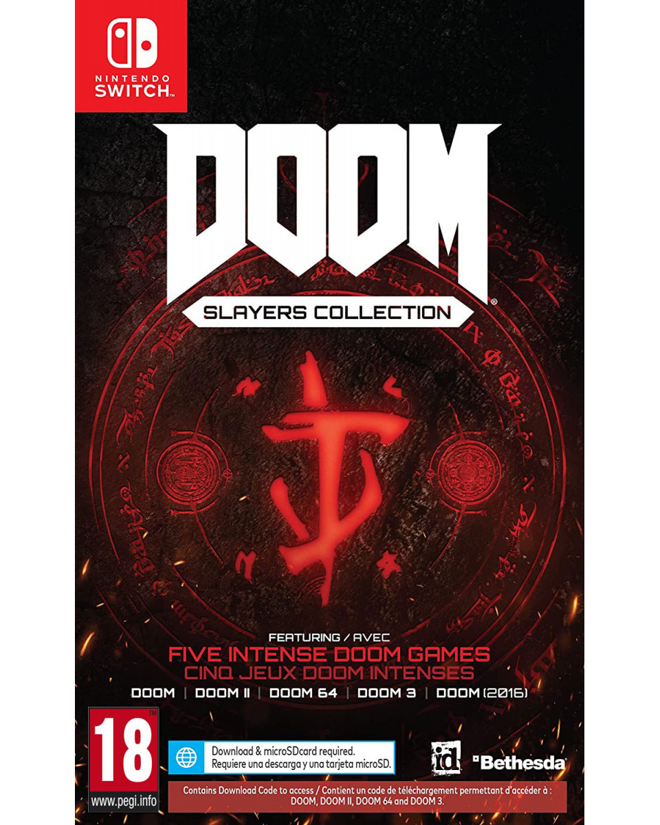 Switch Doom - Slayers Collection - Code In A Box