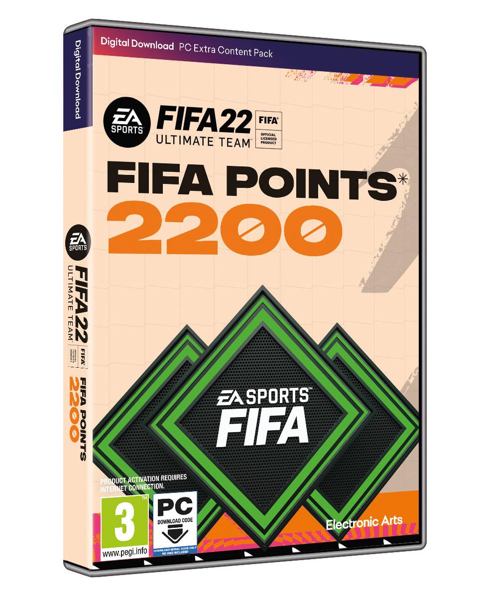 PCG FIFA 22 Ultimate Team - 2200 FUT Points
