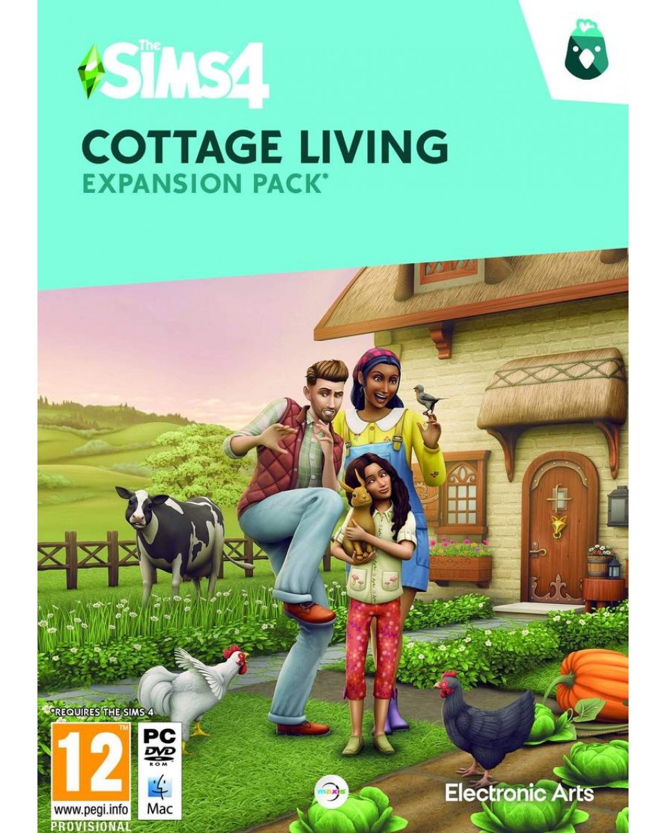 PCG The Sims 4 - Cottage Living - Expansion Pack