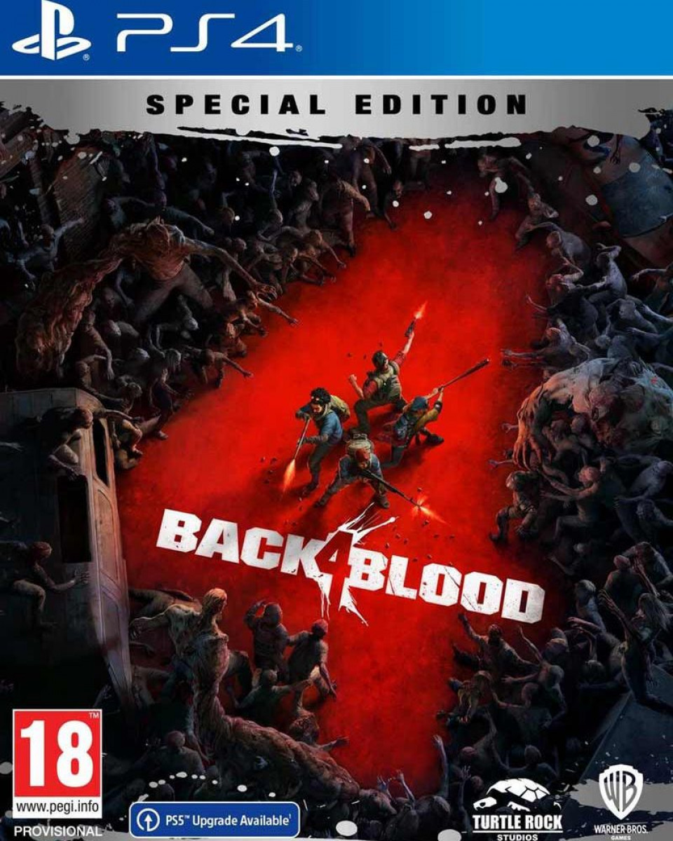 PS4 Back 4 Blood Steelbook Special Edition - Day One