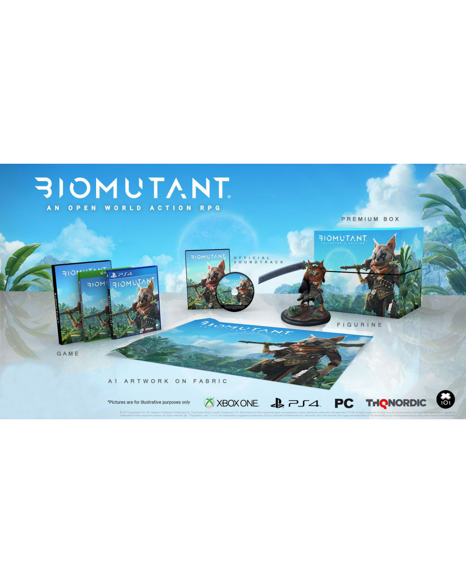 PS4 Biomutant Collector's Edition