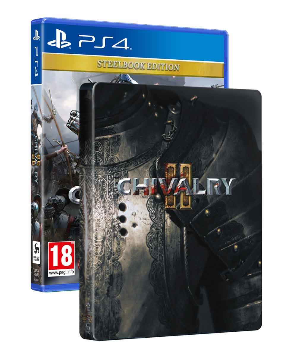 PS4 Chivalry II Steelbook Edition