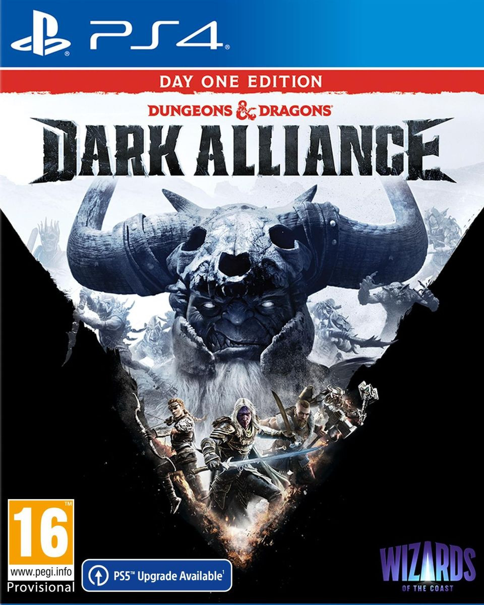 PS4 Dungeons and Dragons: Dark Alliance Day One Edition