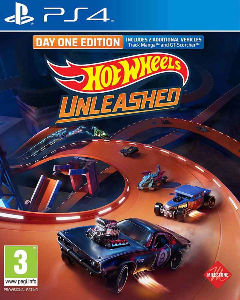 PS4 Hot Wheels Unleashed - Day One Edition