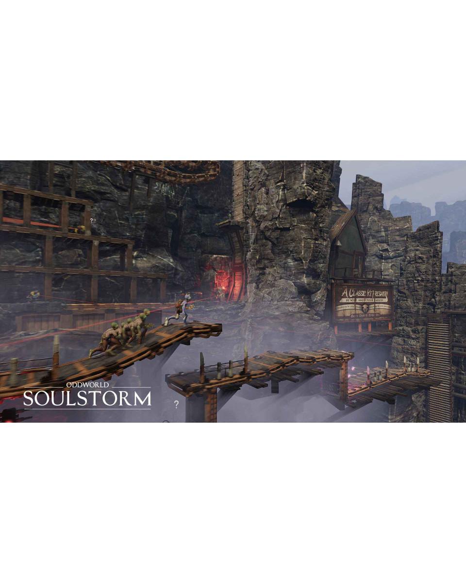 PS4 Oddworld: Soulstorm Day One Oddition