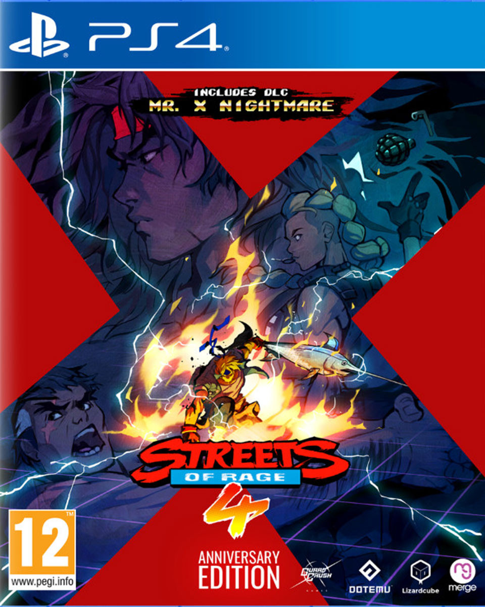 PS4 Streets of Rage 4 - Anniversary Edition