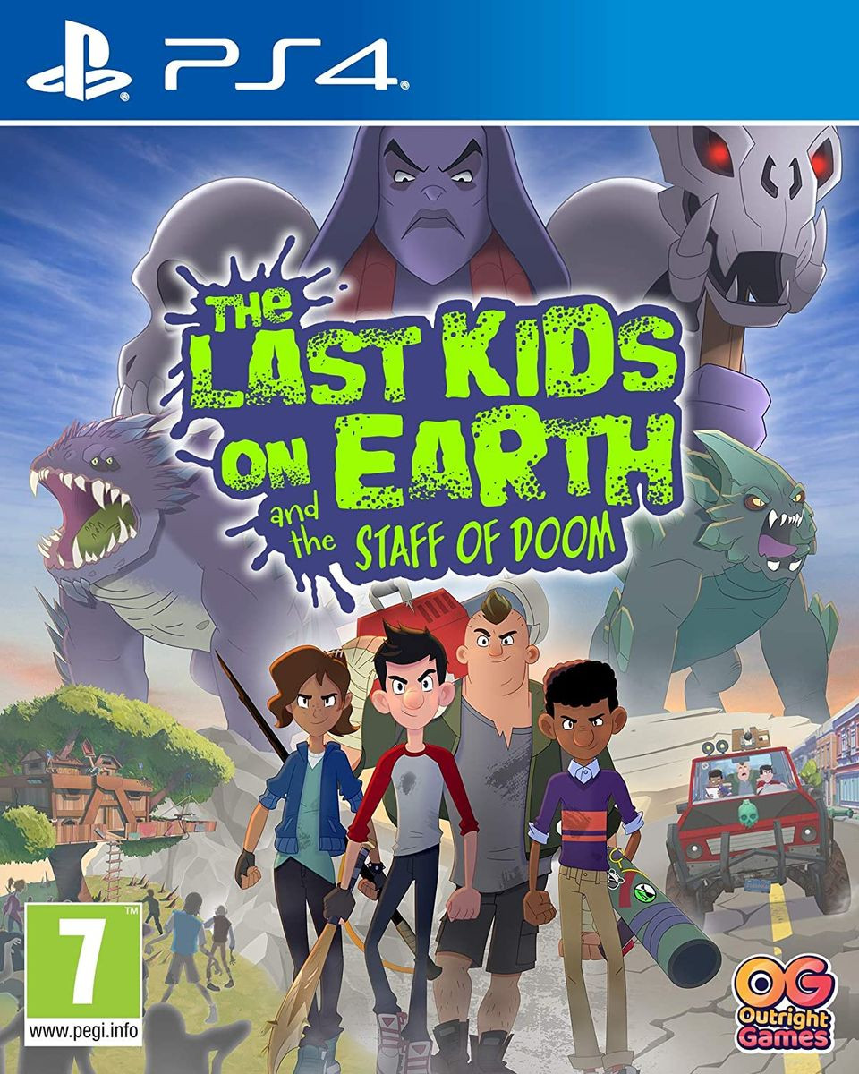 PS4 The Last Kids On Earth And The Staff Of Doom