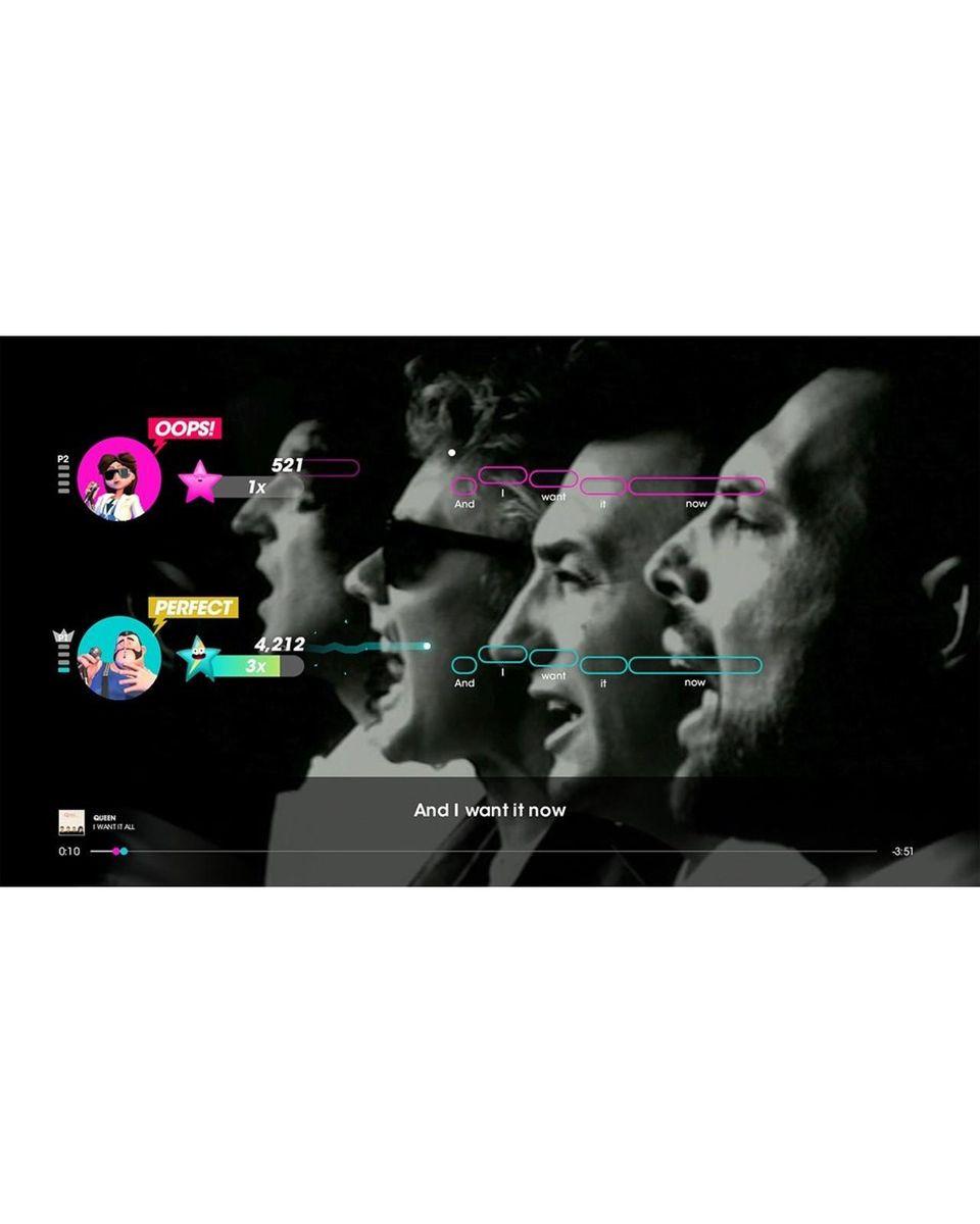 PS4 Let's Sing - Queen + Mikrofon