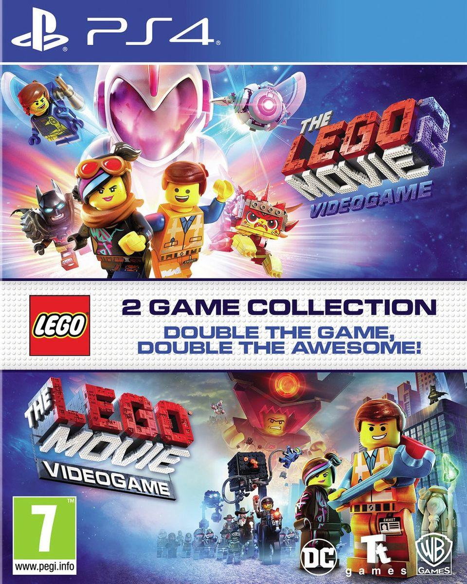 PS4 Lego The Movie & Lego The Movie 2